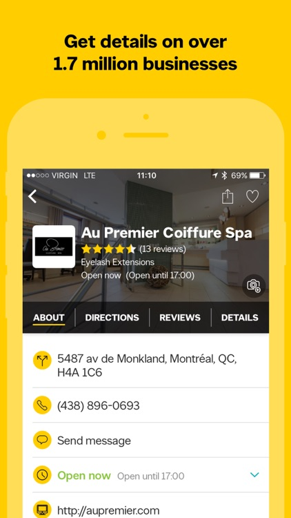 Yellow Pages Canada screenshot-3