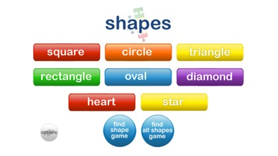 Autism iHelp – Shapes screenshot one