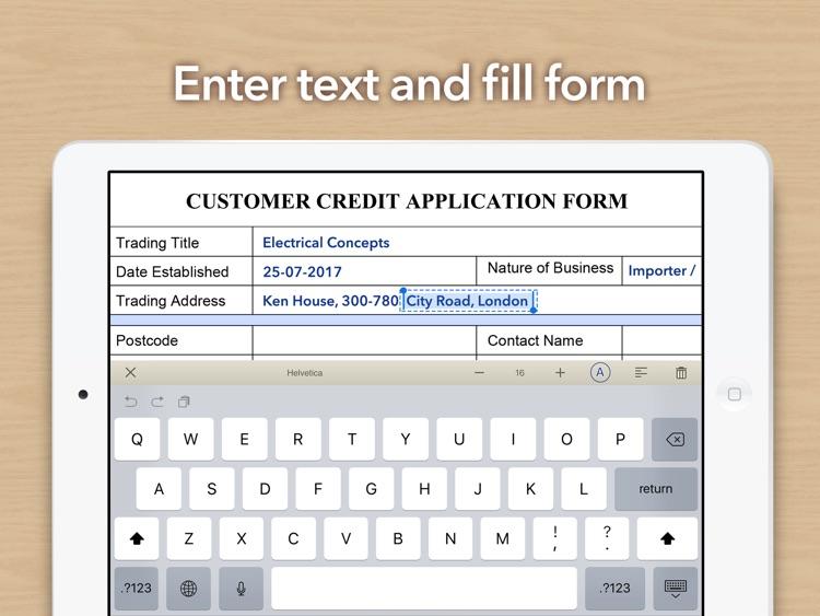 Doc Scan HD - PDF document scanner app screenshot-3