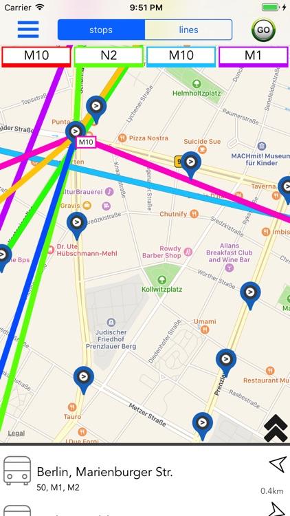 Berlin Public Transport Guide screenshot-3
