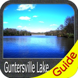 Guntersville lake map GPS fishing charts offline