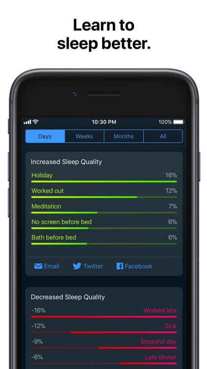 Sleep Cycle alarm clock screenshot-3