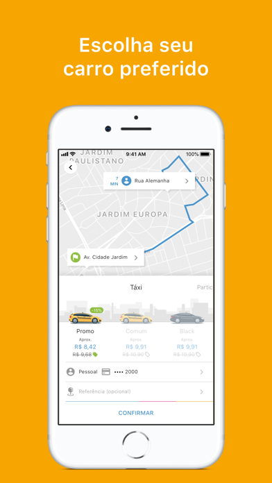 Wappa: Táxi e Carro Particular screenshot three