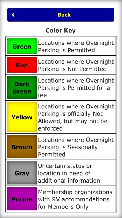 Overnight RV Parking screenshot-5