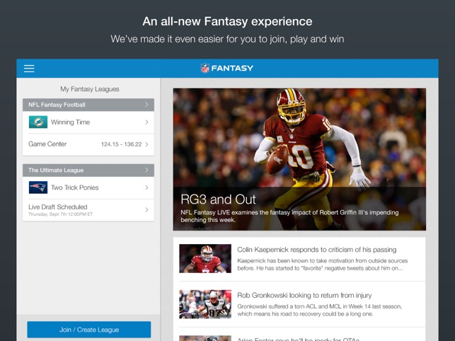 a6935297599  NFL Fantasy Football on the App Store