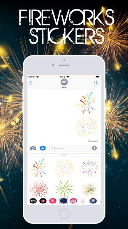 Fireworks Stickerss screenshot-3