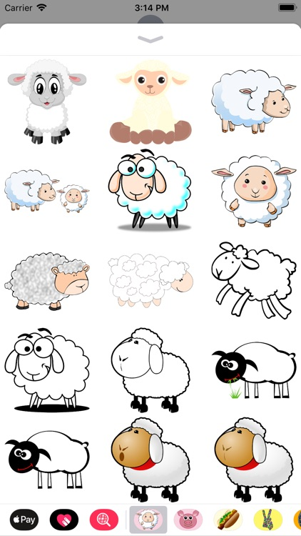 Lamb Sticker Pack