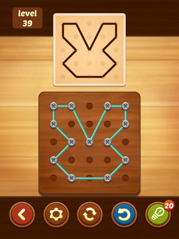 Line Puzzle: String Art screenshot 10