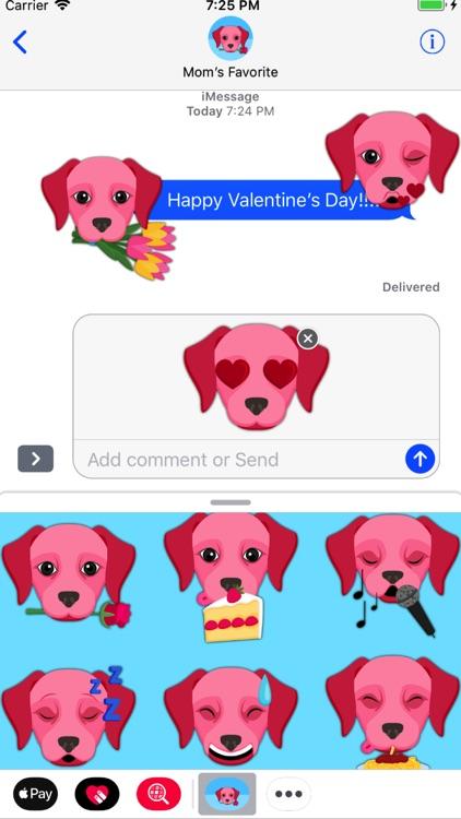 Valentine's Day Labrador