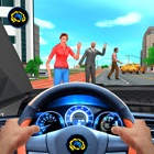 Taxi Driving School Cab Sim 3D icon