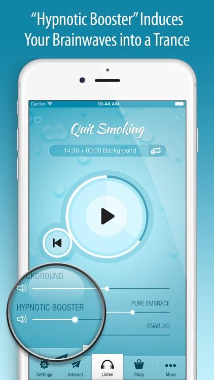 Quit Smoking Hypnosis PRO screenshot-3