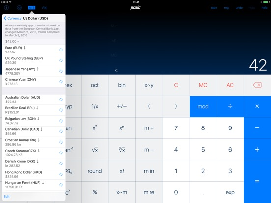 PCalc Screenshots