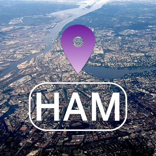Hamburg Offline Map & Guide