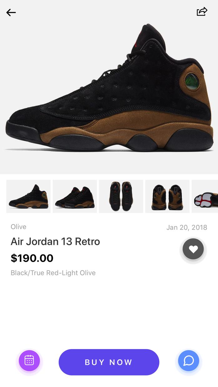 Sneaker Crush - Release Dates Screenshot