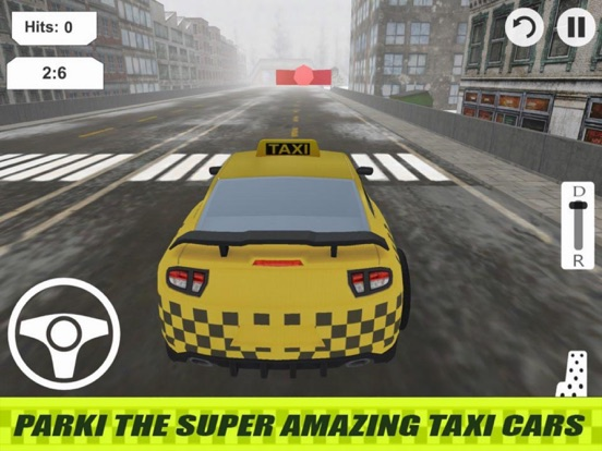 Lever Taxi Parking City screenshot 4
