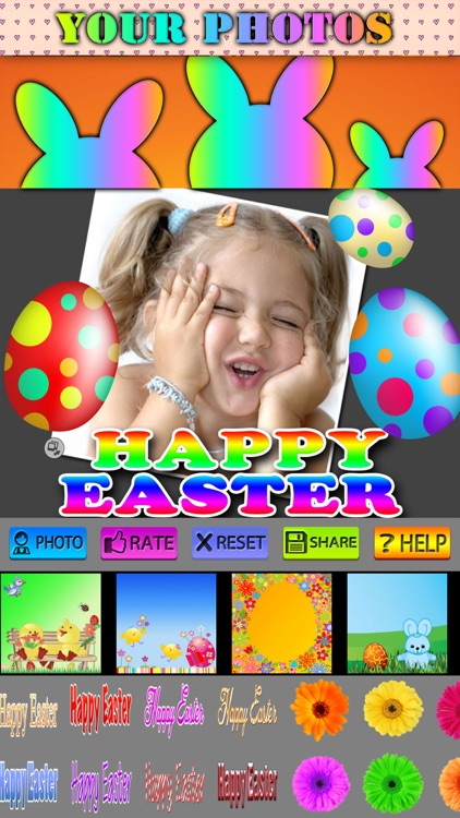 Easter Frames and Stickers