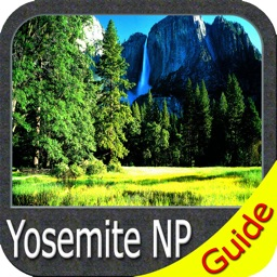 Yosemite National Park - GPS Map Navigator