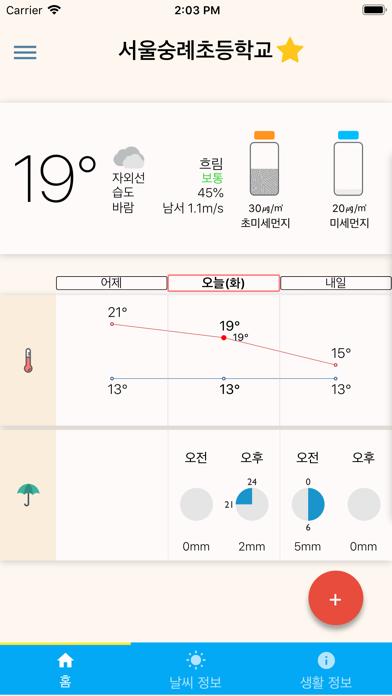 하이날씨 - 미세먼지, 기상청 날씨 예보, 오늘날씨のおすすめ画像1