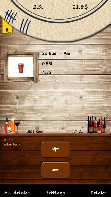 Beermat - DrinksCounter