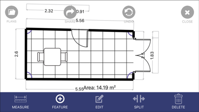 Floor Plan App screenshot 1