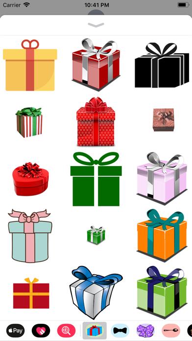 Gift Box Sticker Pack screenshot two