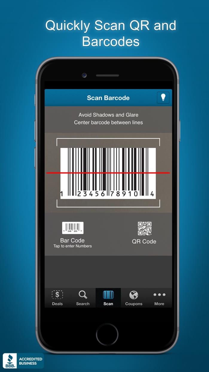 Price Scanner UPC Barcode Scan Screenshot