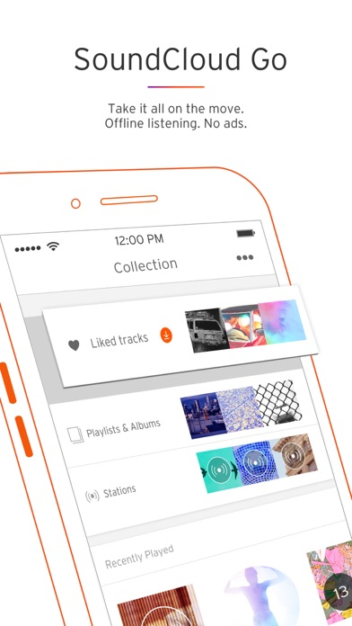 Screenshot for SoundCloud - Music & Audio in South Africa App Store