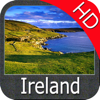 Marine : Ireland HD - GPS Map Navigator