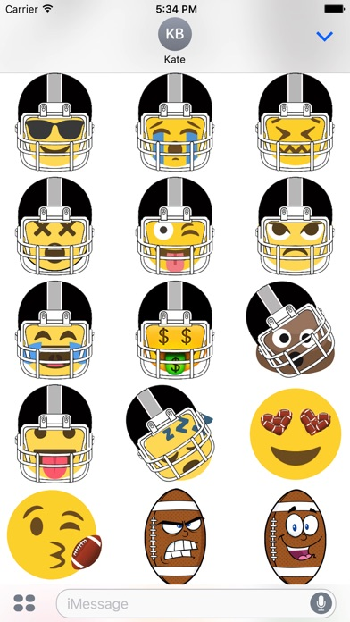 Oakland Football Sticker Pack App Download Android Apk