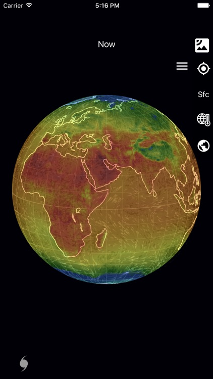 Wind Map: 3D Hurricane Tracker screenshot-3