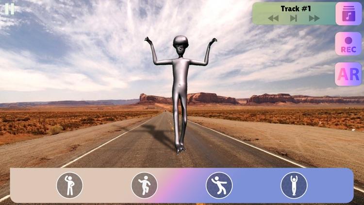 Howard The Alien: Dance Sim