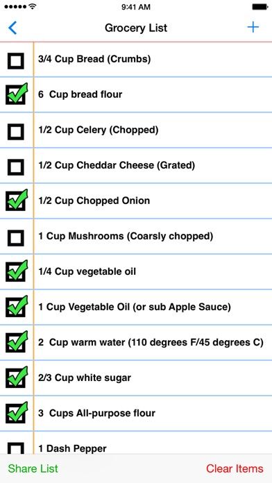 My Recipe Book Organizer review screenshots