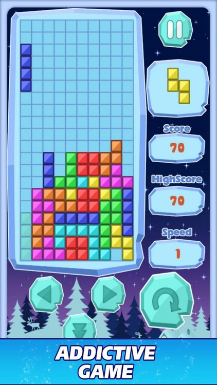 Block Quadris Puzzle Fun
