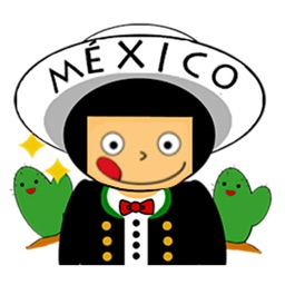 Cute Mexican Friends Sticker