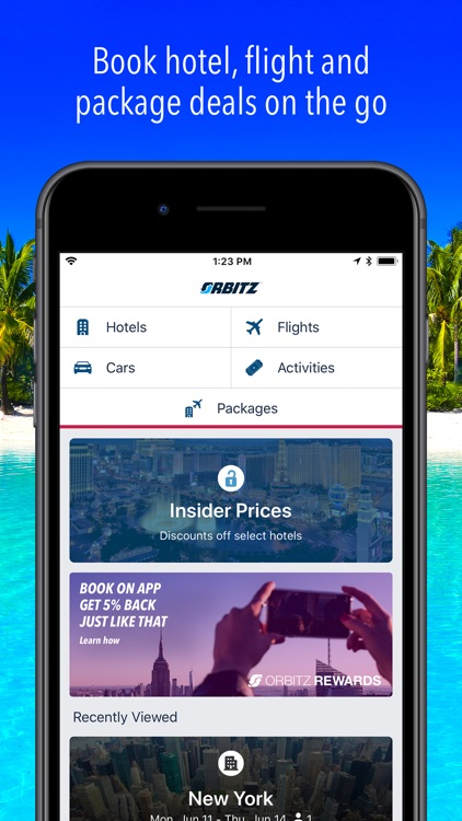 Orbitz Hotels & Flights screenshot-0
