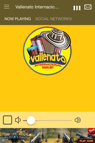 Vallenato Internacional Radio - náhled