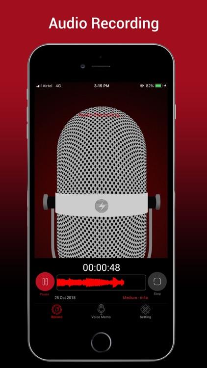 Voice Recorder HD Pro screenshot-4