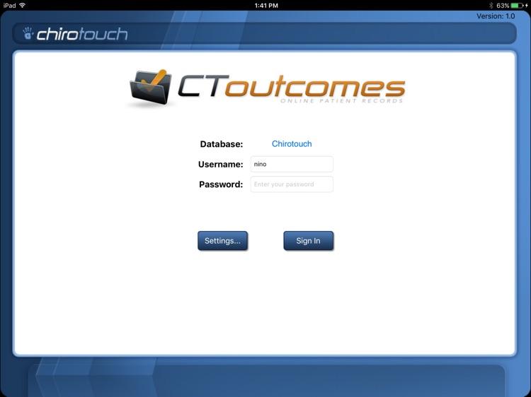 CT Outcomes Mobile 7.2