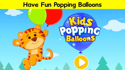 Pop the balloons - #1 Educational Baby Game