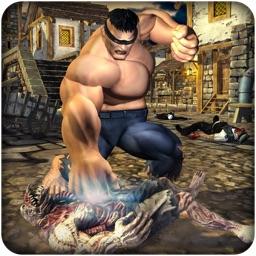 Monster VS Zombie City Battle