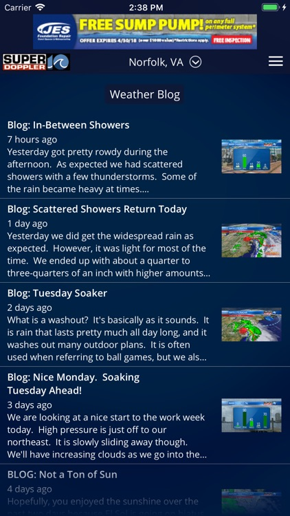 WAVY Weather screenshot-3