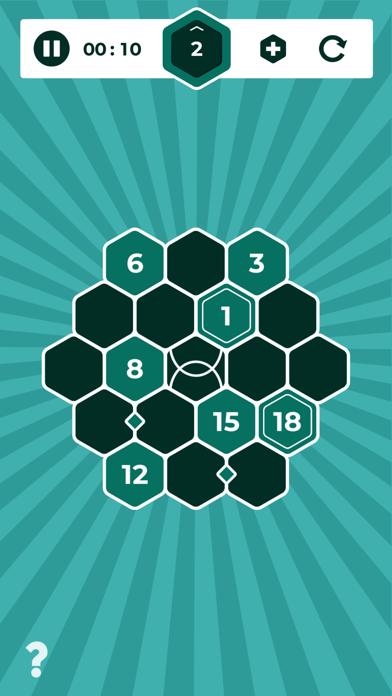 Number Mazes: Rikudo Puzzlesのおすすめ画像7