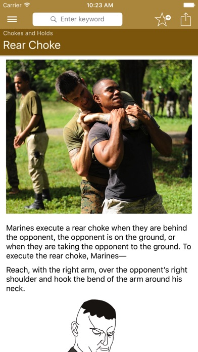 Marine Martial Arts review screenshots