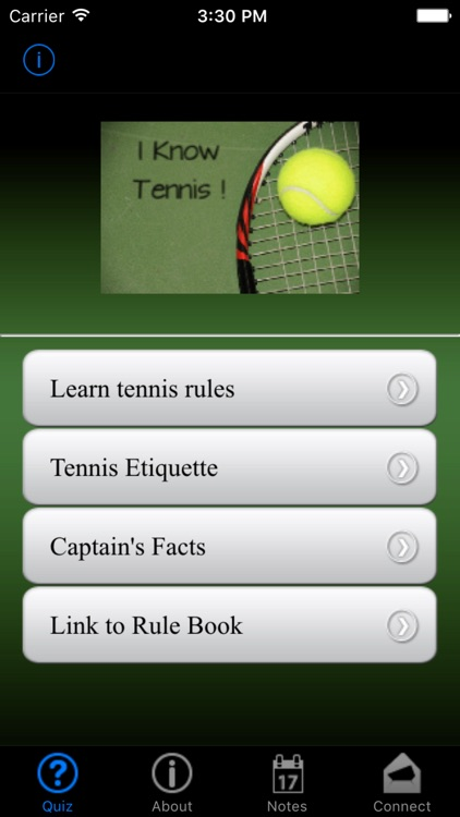 i Know Tennis! screenshot-0
