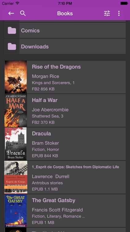 KyBook 2 Ebook Reader screenshot-4
