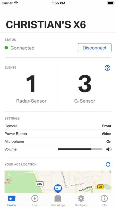 Advanced Car Eye 2.0 screenshot one