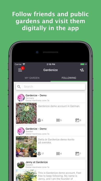 GARDENIZE - garden & plant app screenshot-4