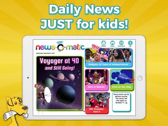 Screenshot #4 pour News-O-Matic: School 2018-19