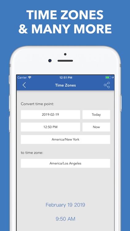 Date & Time Calculator(9 in 1) screenshot-4