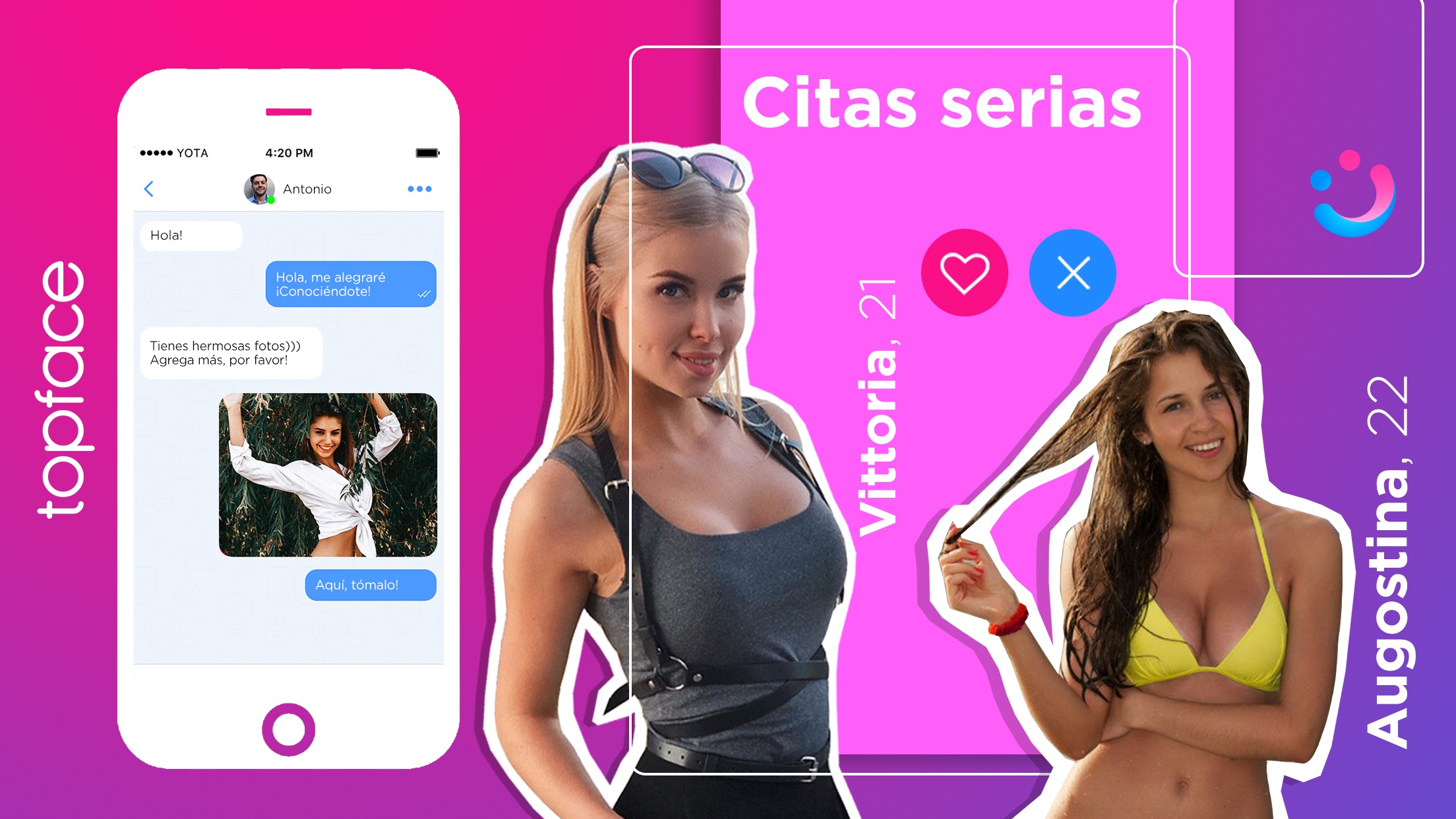 Topface: Chat y ligar. Citas Screenshot